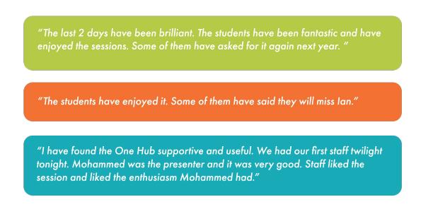 skegness staff feedback